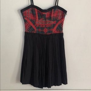 UO Staring at Stars embroidered mini dress size 0
